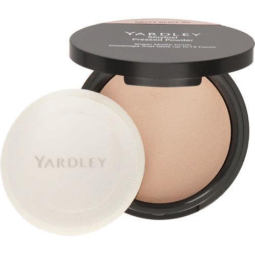 YARDLEY Stayfast Pressed Powder MISTY BEIGE