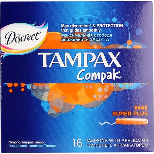 Tampax Compak Super Plus 16