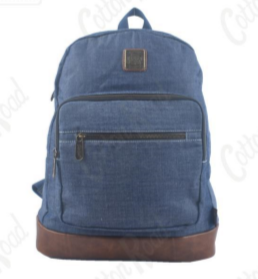 Denim Back Bag