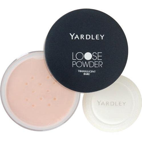 YARDLEY Loose Powder TRANSLUCENT BARE
