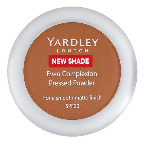 YARDLEY Press Powder Even Complex CHESTNUT