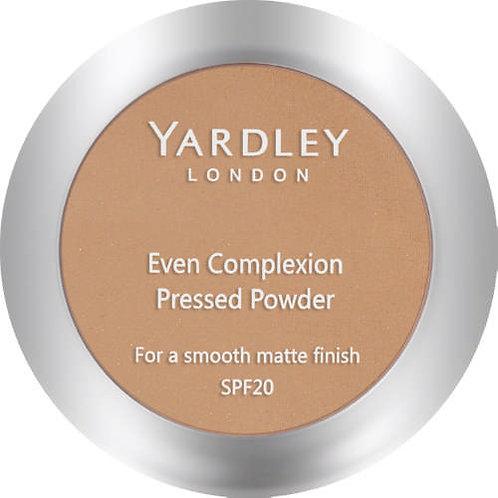 YARDLEY Press Powder Even Complex CARAMELISED