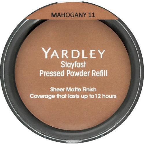 YARDLEY Stayfast Pressed Powder Refill  MAHOGA