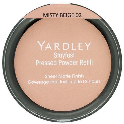 YARD Stayfast Pressed Powder Refill  MISTY BEIGE