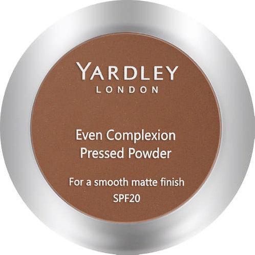 YARDLEY Press Powder Even Complex MAHOGANY