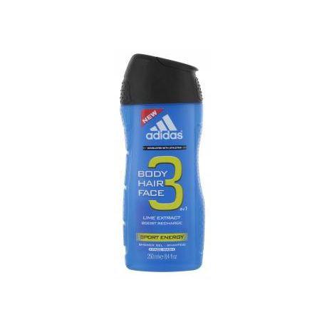 Adidas 3In1 Active Start Showgel 250ml