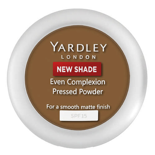 YARDLEY Press Powder Even Complex COCOA