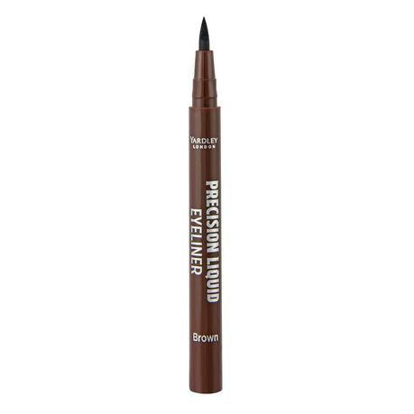YARDLEY Precision Liquid Eyeliner BROWN
