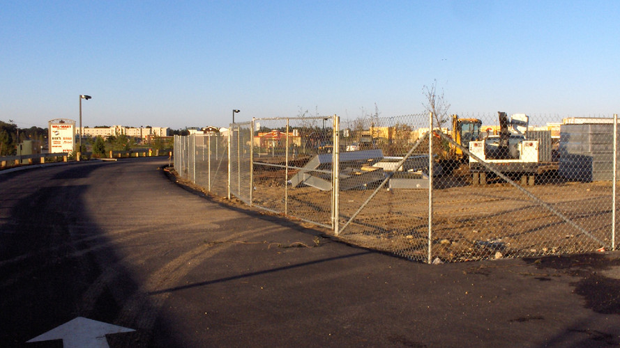 Driven Temporary Fence