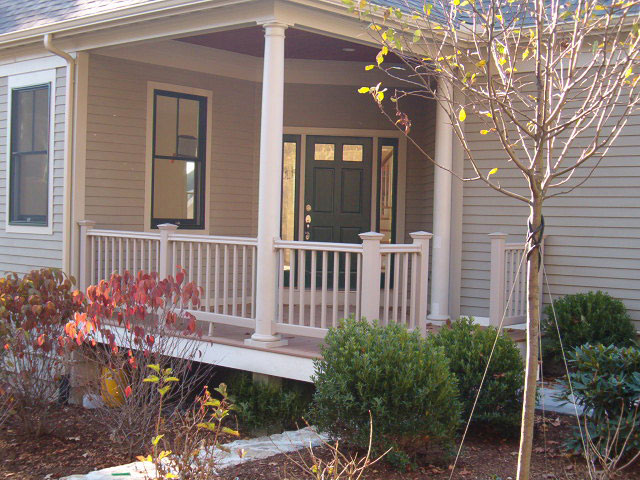 PVC Railing + Porch Posts