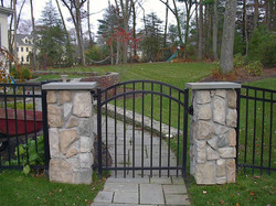 Ornamental Fence with Gate