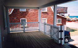 PVC Railing with Gate
