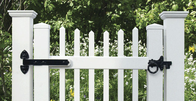 Ring Latch for Gates