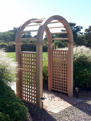 You (and your garden) deserve an Arbor from Premier Fence!