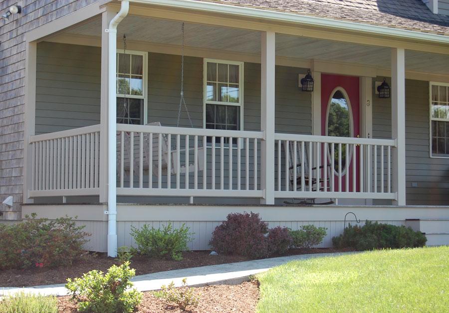 PVC Railing + Porch