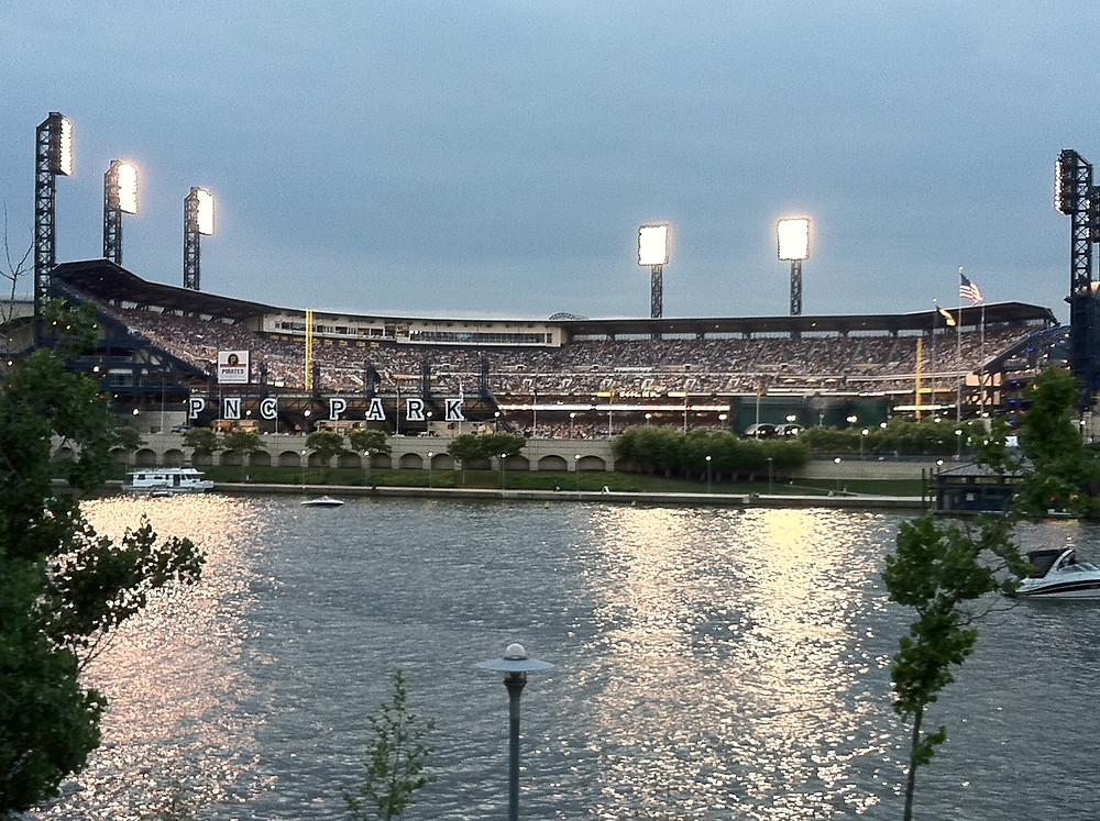My favorite ballpark, PNC Park.  Photo by Marty Breit.