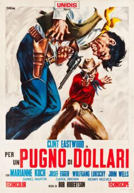 Yojimbo remake A Fistful of Dollars