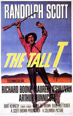 The Tall T. Poster, 1957.