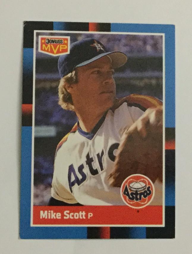 Mike Scott, Donruss, 1988