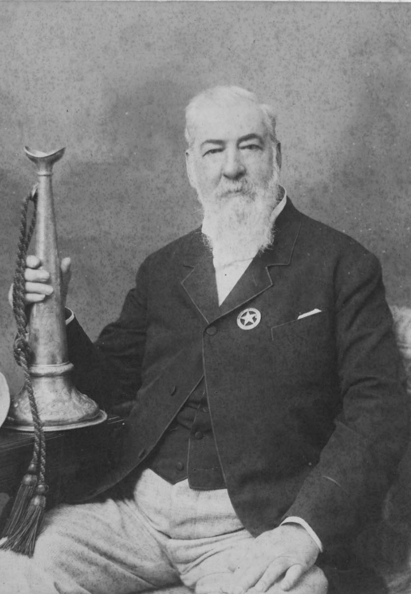 Alexander Cartwright, father of modern baseball, who probably had a 50 mph fastball.