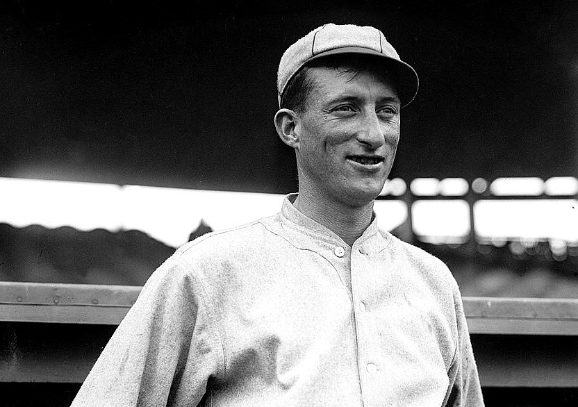 Reds Junkball Pitcher Slim Sallee, 1911. Public Domain.