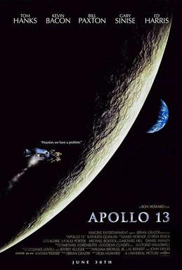 """""""Where we're going we won't need roads, we'll need a rocket."""" Apollo 13, 1995."""