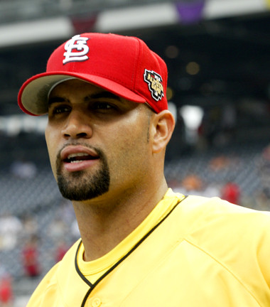 Pujols at the 2006 All-Star Game. Picture by Rafael Amado Deras.