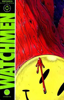 Smile More. Watchmen, 1987. Fair Use.