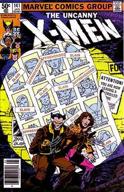 Fur-lined face. X-Men, 1981, Fair Use.