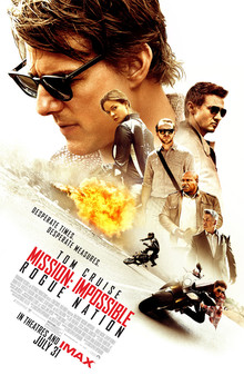 Mission: Impossible Rogue Nation poster, 2015.
