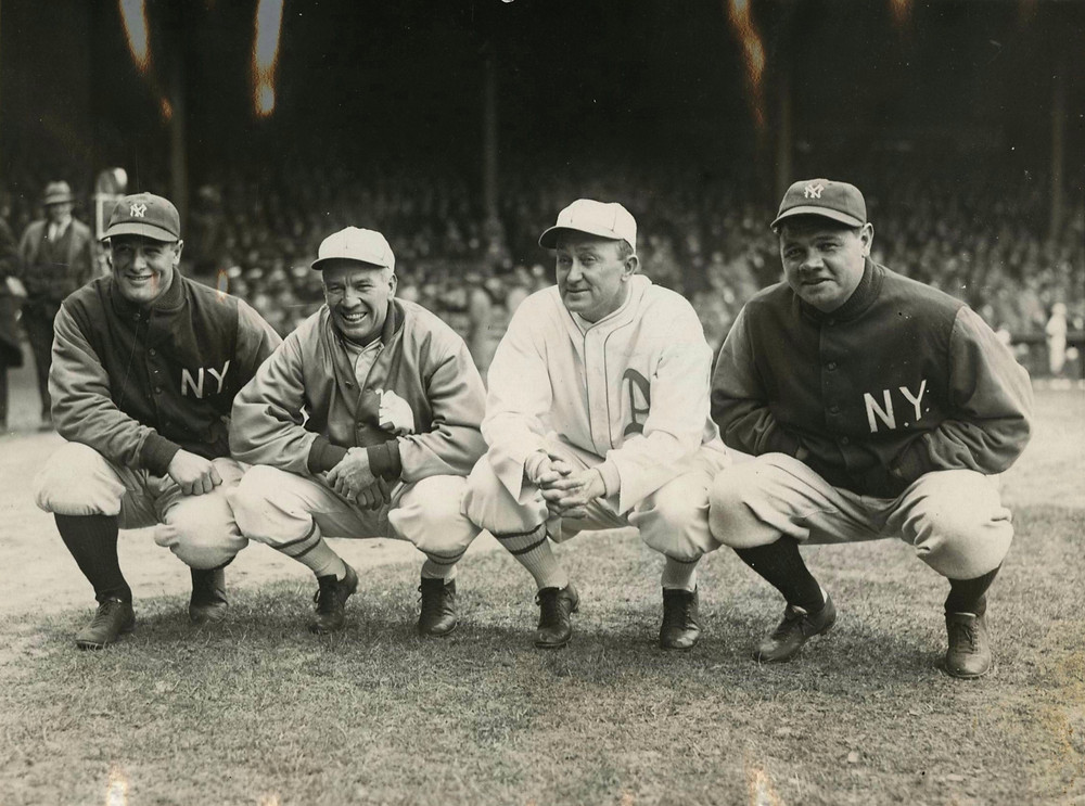 In his times Tris Speaker was at the Gehrig, Cobb, Ruth level. Public Domain, 1928.