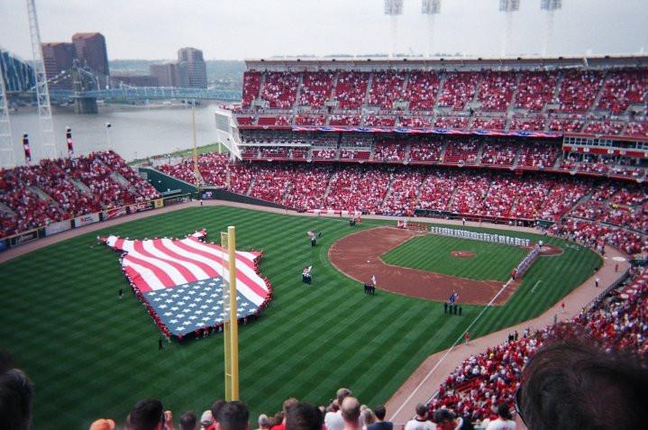 Cincinnati Reds Opening Day, 2010