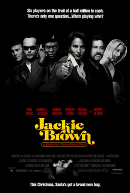 Foxy- no... Jackie Brown. Poster, 1997.