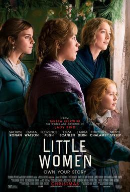 Little Women 2019 Film Poster. Positively tiny.
