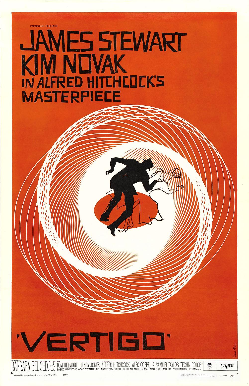 Vertigo, 1958. Public Domain.