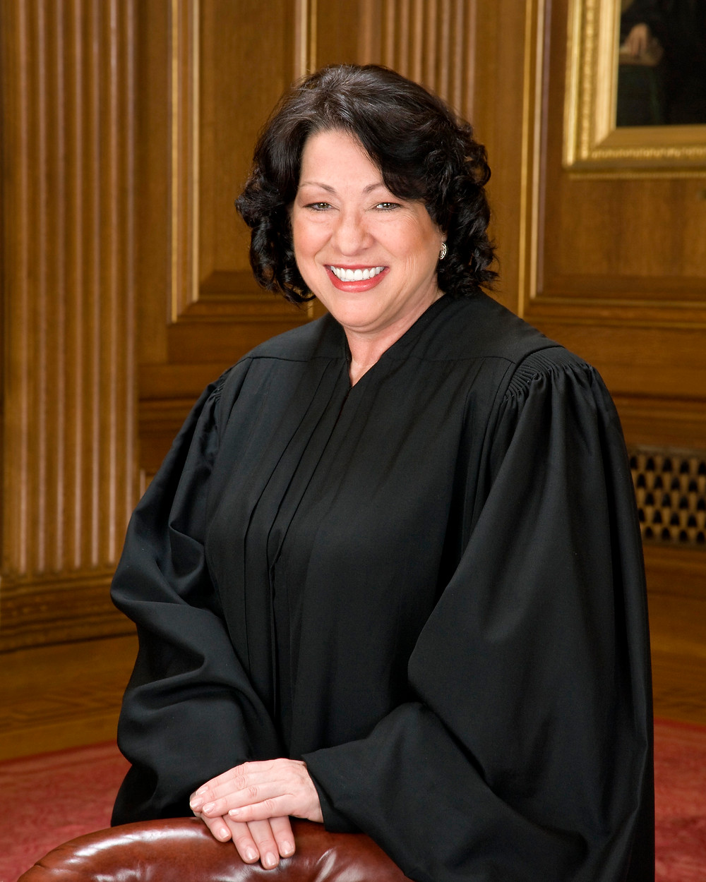 Supreme Court Justice Sonia Sotomayor. Public Domain.