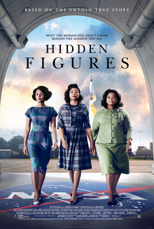 I hope they notice that there's a rocket launch right behind them. Hidden Figures, 2016.