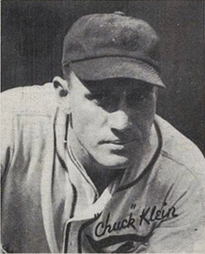 Chuck Klein, 1936. Public Domain.