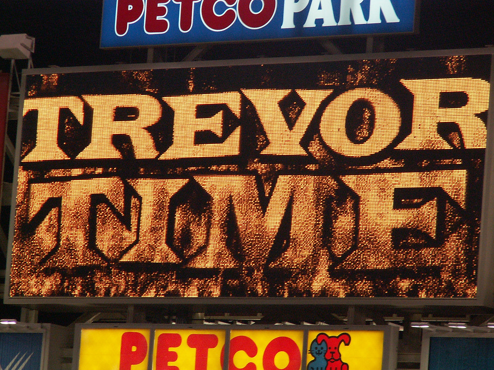 Trevor Hoffman's entrance at Petco Park. Public Domain.