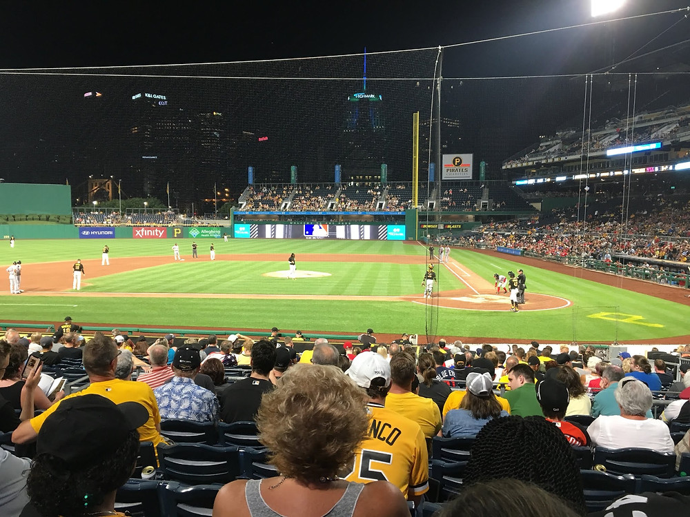 Bucs vs. Nats at PNC Park. Picture by Marty Breit, 2018.
