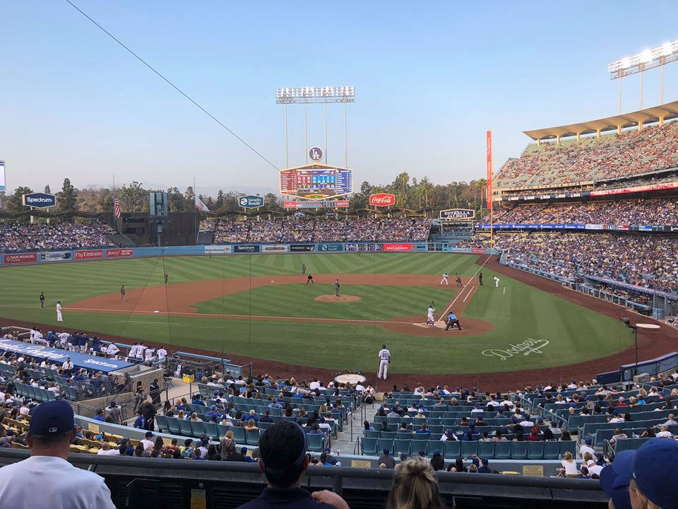 Dodger Stadium. Picture by B. Kelhoffer, 2018.