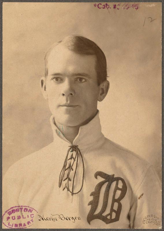 Marty Bergen. Boston Public Library, 1899.