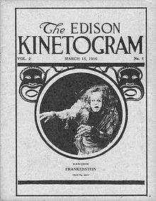 Frankenstein (1910). Public Domain.