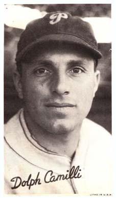Dolph Camilli in 1936. Public Domain.
