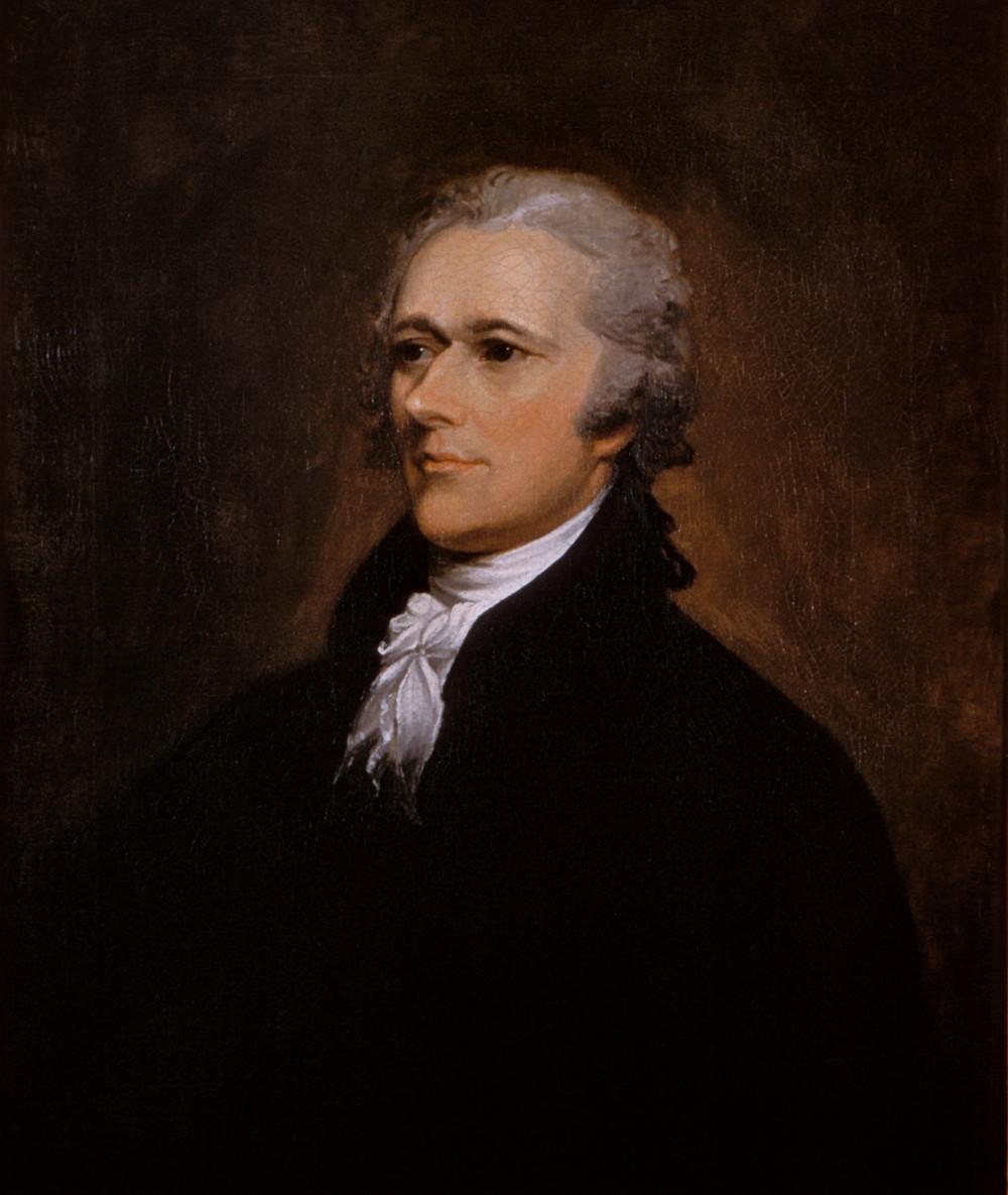 """""""Alexander Hamilton,"""" sung to the tune of Alexander Hamilton."""