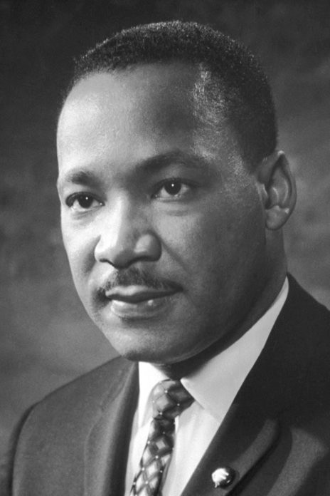 Portrait of Martin Luther King, Jr. Public Domain.