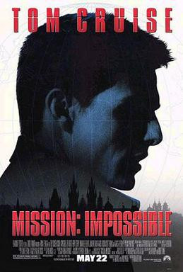 Mission: Impossible poster, 1996.