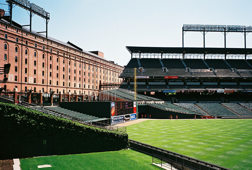 Example of an empty Oriole Park. Picture by James G. Howes.