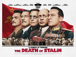 Stalin not pictured. The Death of Stalin movie poster, 2018.