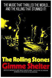 And it would have been darker if the Dead took the stage. Gimme Shelter, 1970. Fair Use.